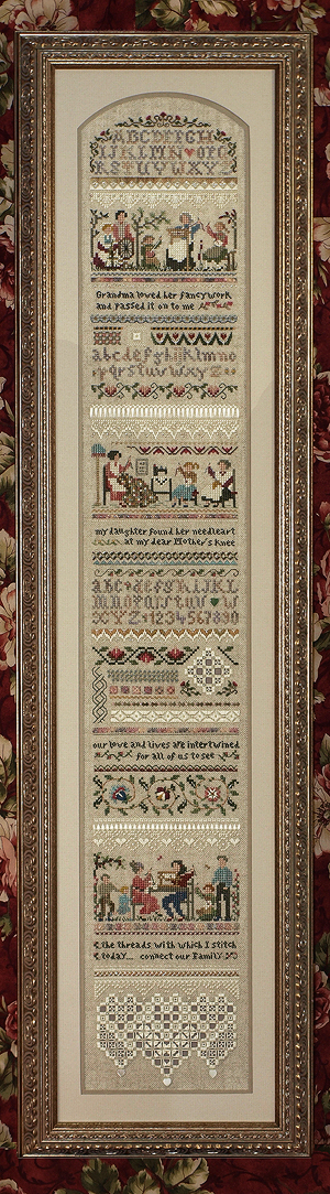 Heirloom Stitching Sampler (grille)