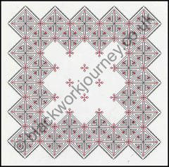 Grille CH11, Diamond Flowers