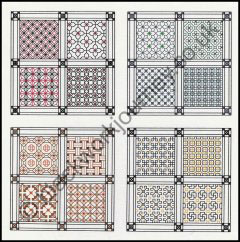 Grille CH27, Squares Within Squares Mini