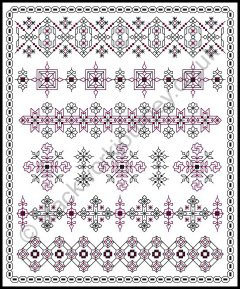 Grille CH132, Petite Patterns