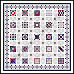Grille CH235, Quilter's Patch