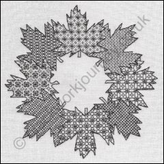 Grille CH308, Maple Leaf Wreath