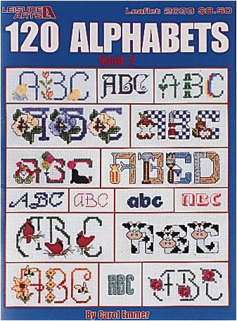 120 Alphabets, Book 2