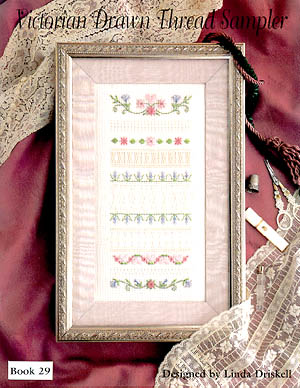 Victorian Drawn Thread Sampler
