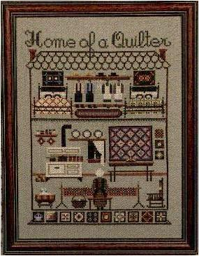 # 17 Home of a Quilter