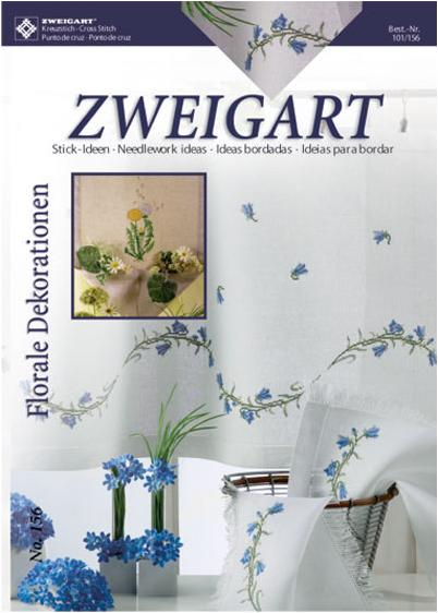 Zweigart No. 156 Décorations florales