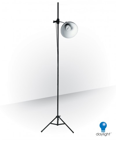 Cli-on Studio Lamp & Stand, 32 Watt