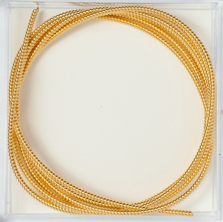 Gilt Pearl Purl #2, 1 verge