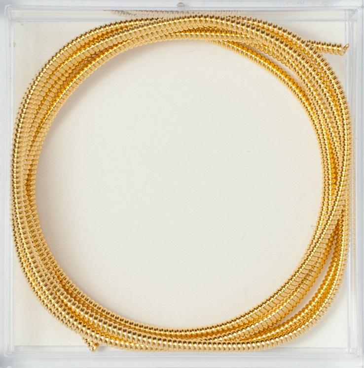 Gilt Pearl Purl #3, 1 verge