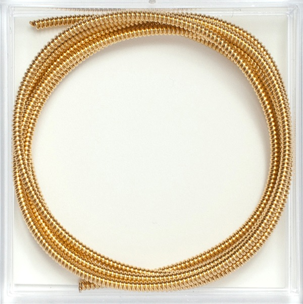 Gilt Pearl Purl #4, 1 verge