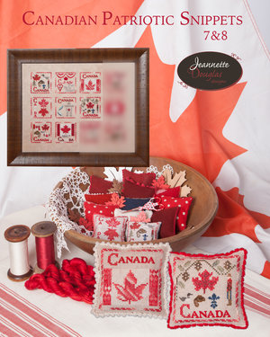 Canadian Patriotic Snippets #7 & #8, Grille