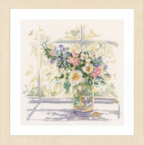 Lanarte # 0168743, Bouquet of Flowers