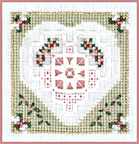 Victoria Sampler, Learning Collection n# 6-10 Blanket Stitch