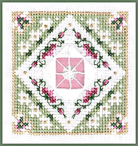 Victoria Sampler, Learning Collection n# 6-06 Whipped Spider Web