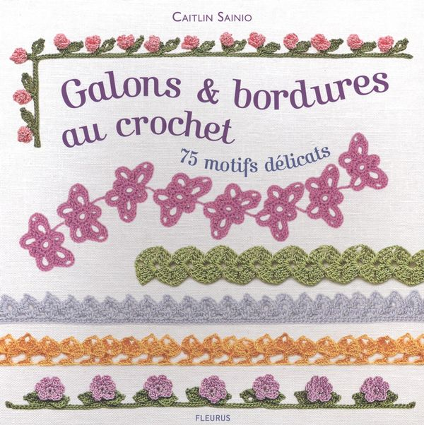 Galons et bordures au crochet