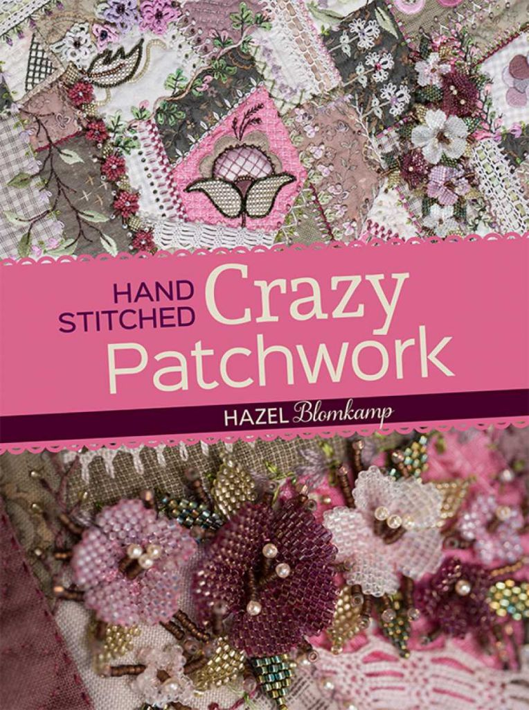 Hazel, Hand Stitches Crazy Patch
