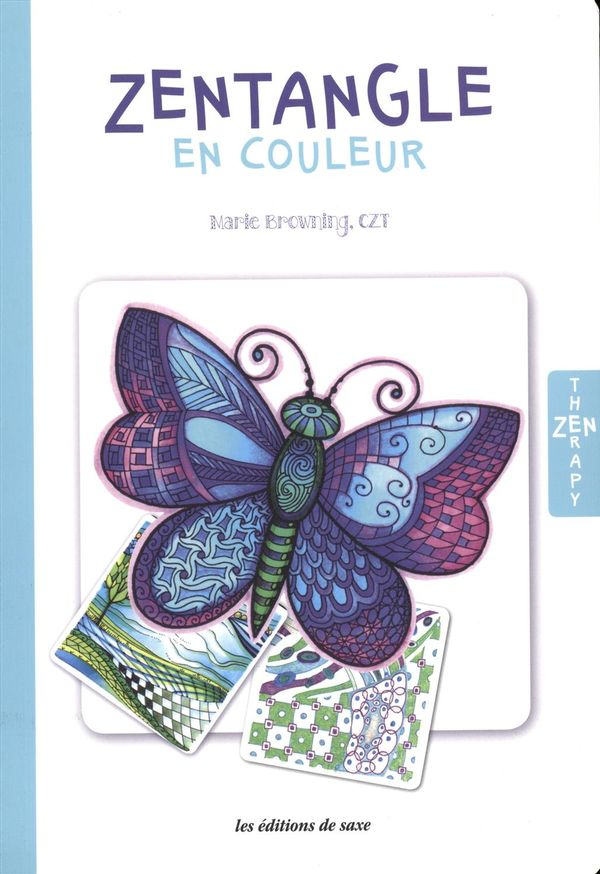 Saxe, Zentangle en couleur
