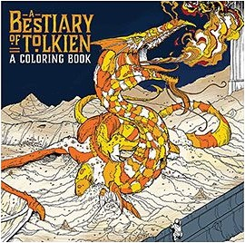 Best of Tolkien Coloring Book