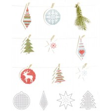 8 Embroidery board Christmas
