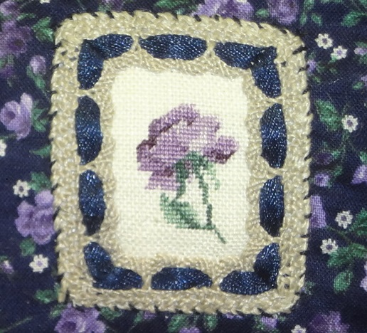 Miniature au petit point