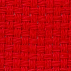 "Tissu Monk, rouge 8 Ct, 60"" 100% cotton"